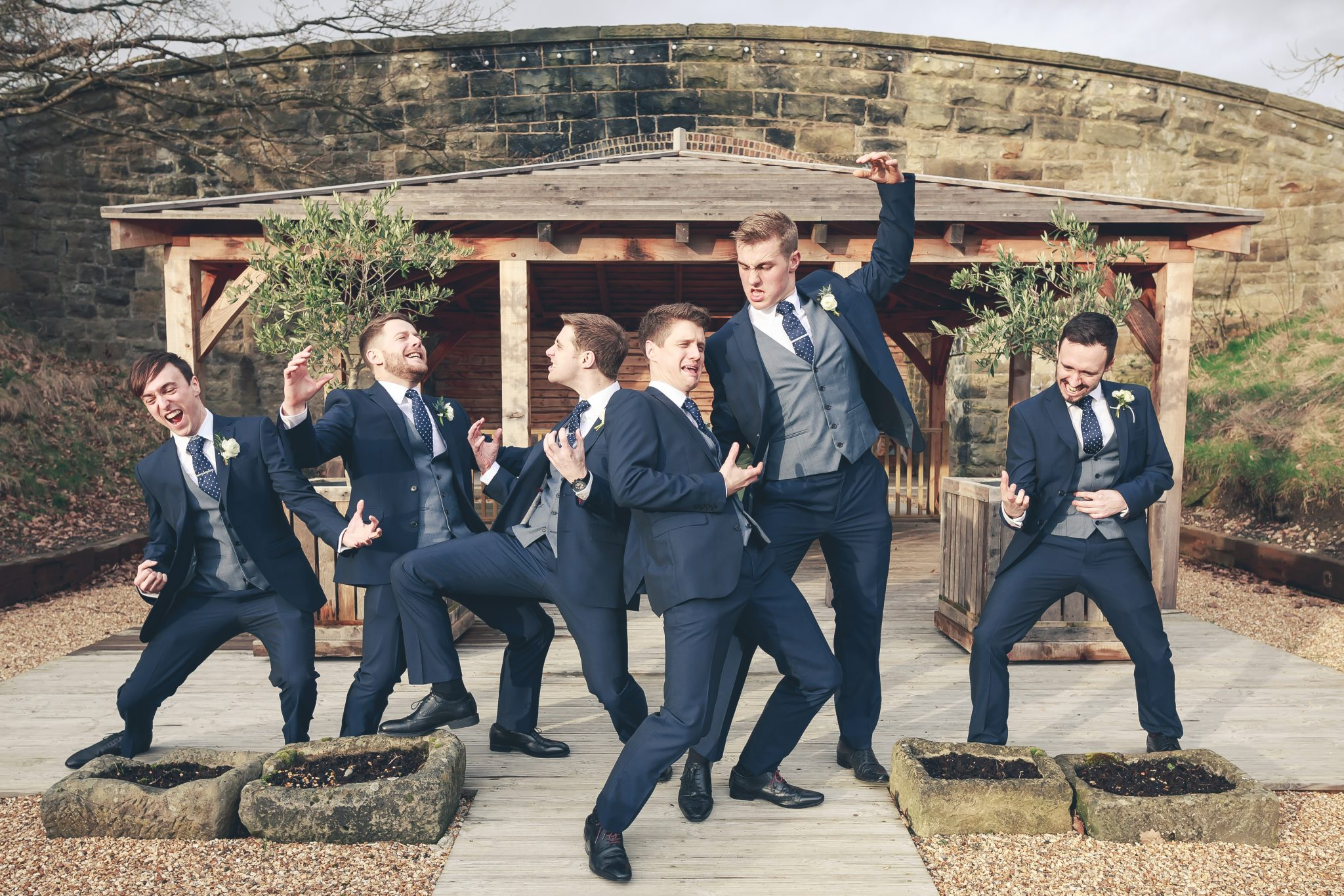 wedding groom groomsmen