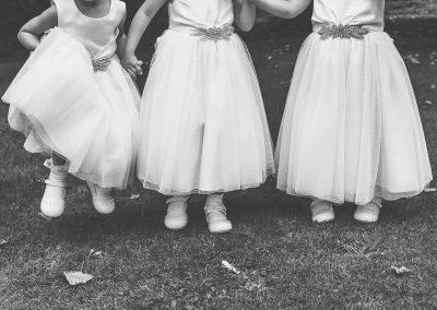 Wedding Bride and Groom bridesmaids