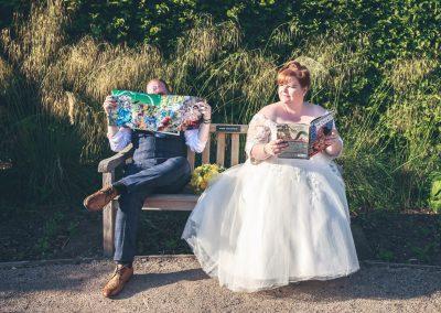 Bride and Groom Marvel